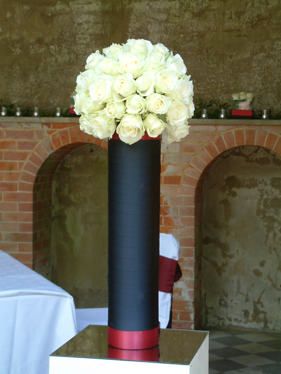 Wedding flowers at wotton house