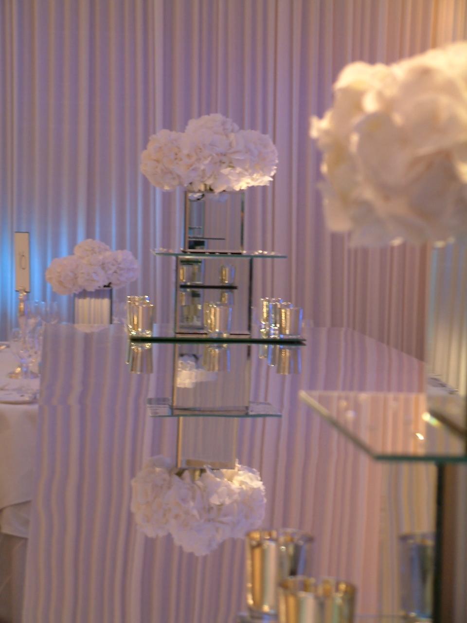 Wedding flowers at Claridge's London