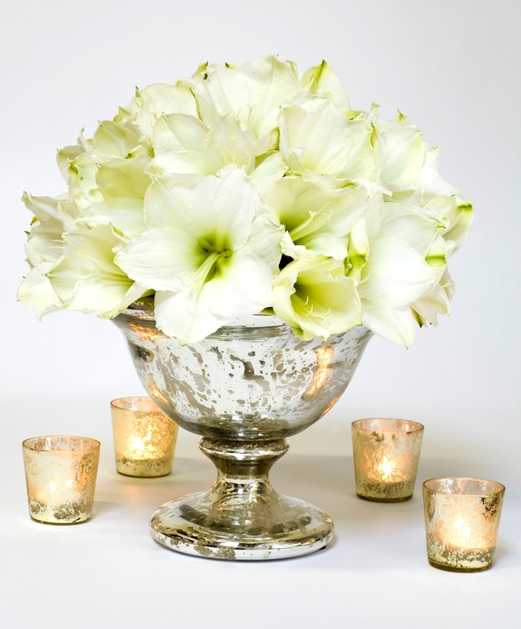 White wedding flower inspiration
