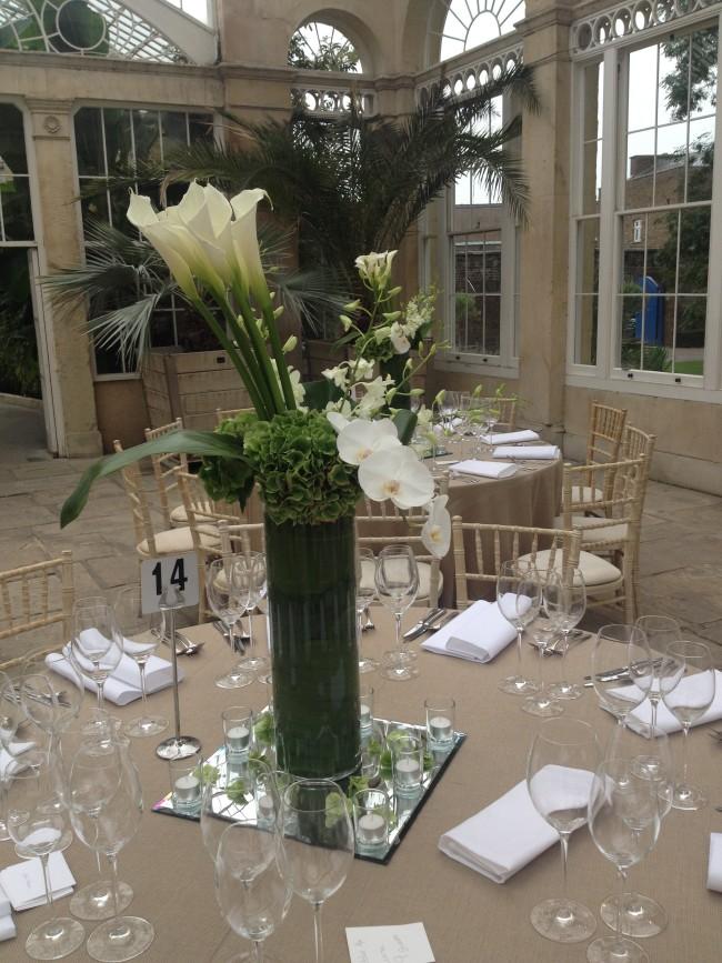 Syon Park Wedding flowers