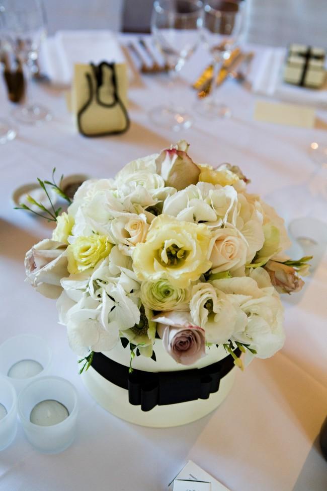 Wedding flower table centre design inspiration