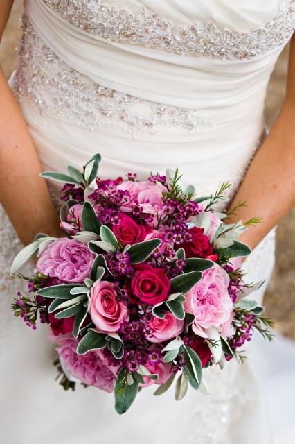 Pink bridal bouquet inspiration