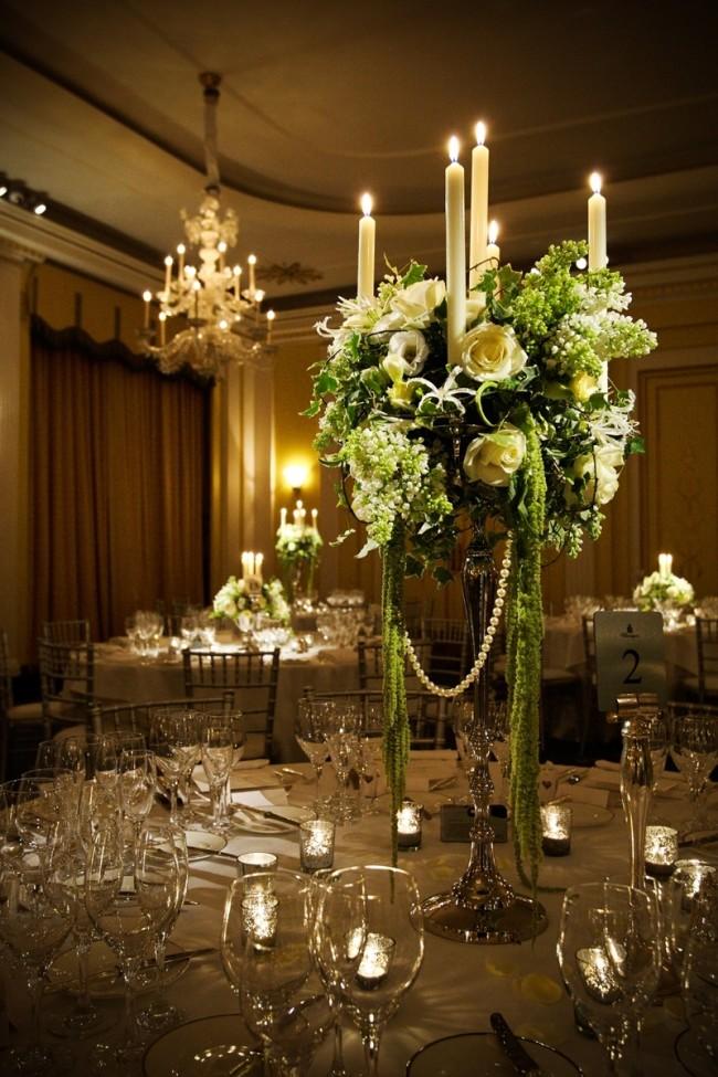 Claridge's hotel wedding flowers