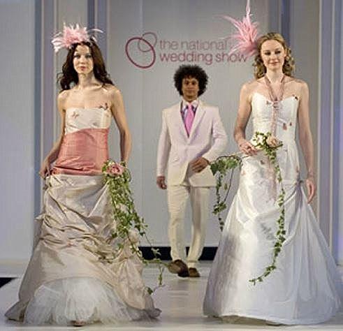 National wedding show catwalk
