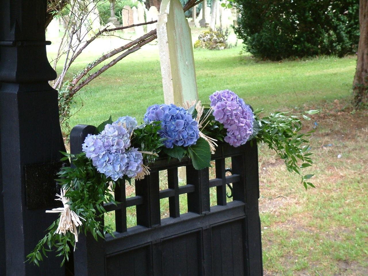 Church wedding flower inspiration