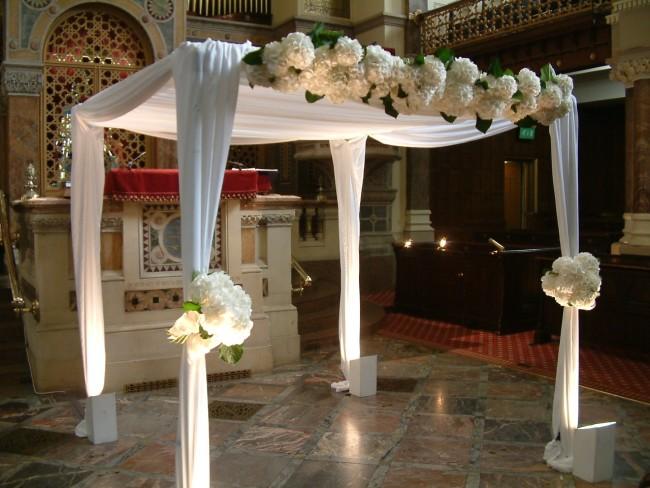 Chuppah wedding flower inspiration