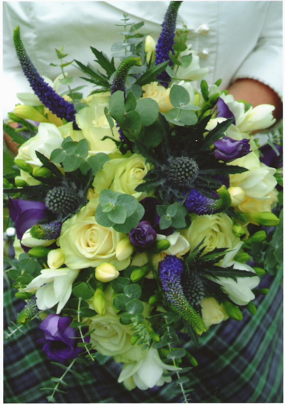 Scottish wedding flower inspiration