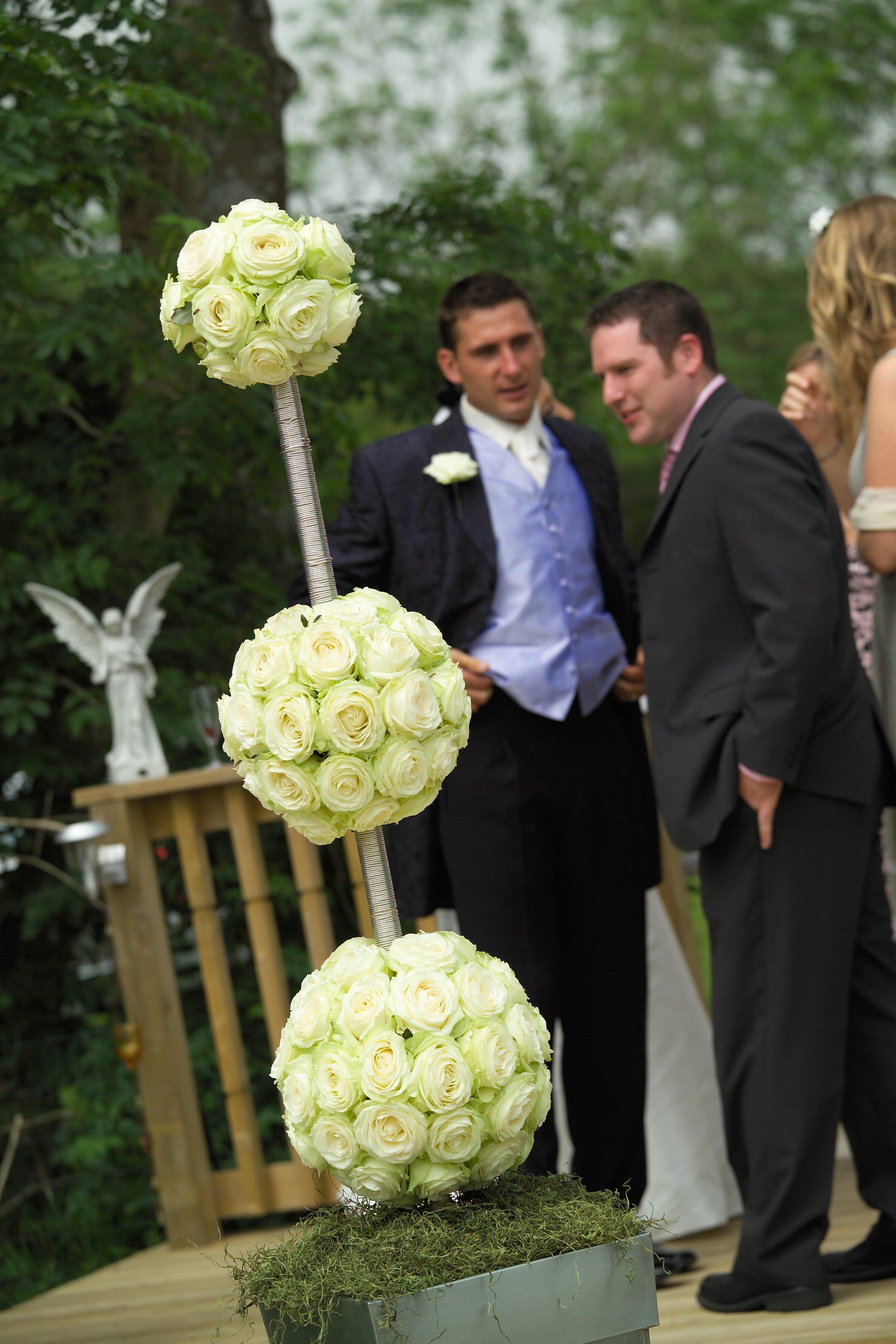 Footballers wedding