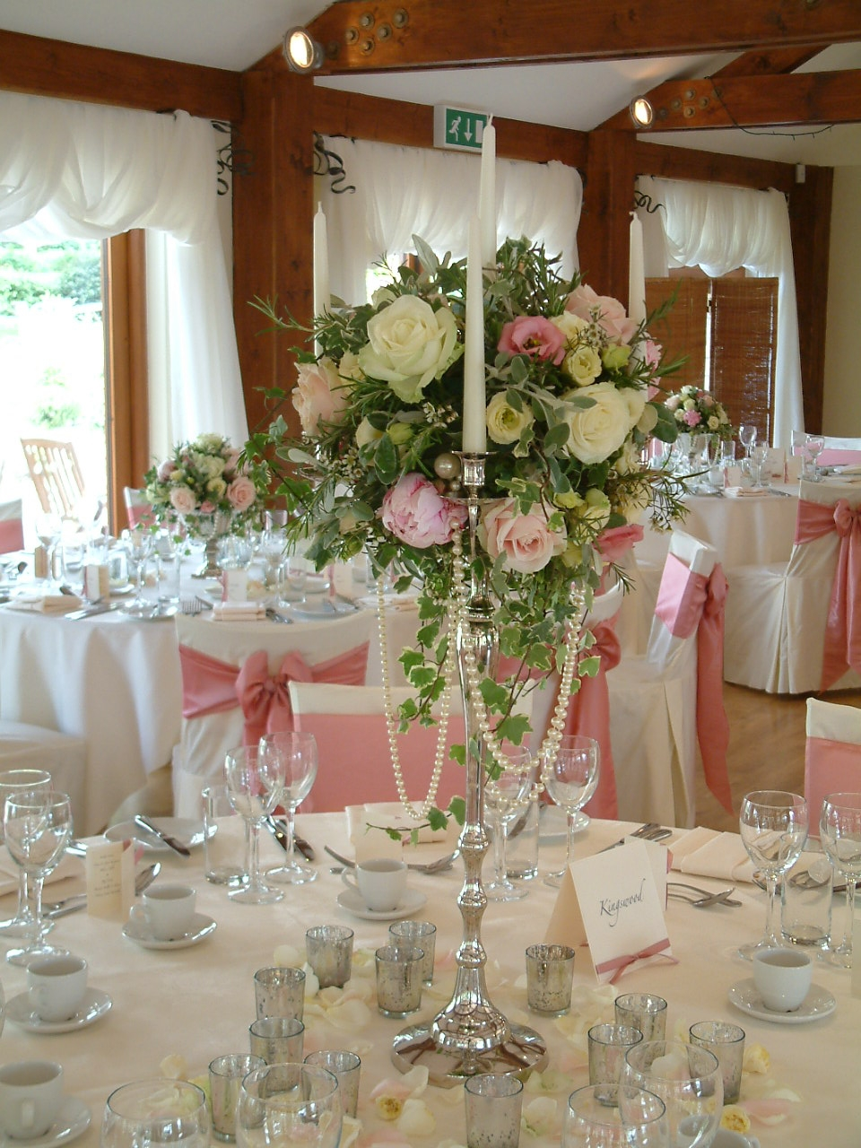 Coltsford Mill wedding flowers