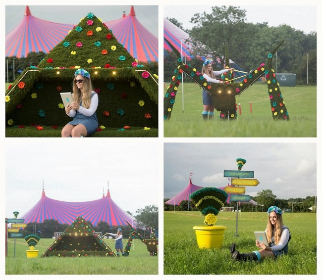 Glastonbury Festival 2016 Floral Styling