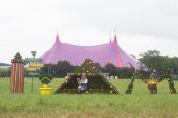 Glastonbury Festival Floral Styling Project