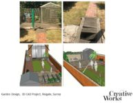 Cindy Kirkland Creative Works Garden Design, 3D CAD Project, Reigate, Surrey