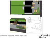 Cindy Kirkland Creative Works Garden Design local property developer project, Surrey