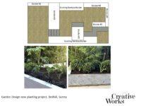 Cindy Kirkland Creative Works Garden Design new planting project, Redhill, Surrey