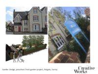 Garden Design, preschool front garden project, Reigate, Surrey