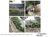 Garden Design Herbaceous Perennial Planting Project, Banstead, Surrey