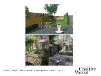 Garden Design, 'Victorian-esque' Project, Balham, London, SW12