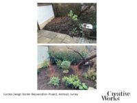 Garden Design Border Rejuvenation Project, Ashtead, Surrey