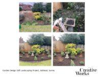 Garden Design Soft Landscaping Project, Ashtead, Surrey