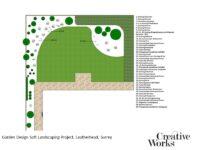 Garden Design Soft Landscaping Project, Leatherhead, Surrey