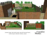 Garden Design, New Build Garden layout & Planting Project,